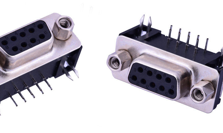 Computer D Sub Input Output Connectors 25 M Omega Max Contact Resistance Customized